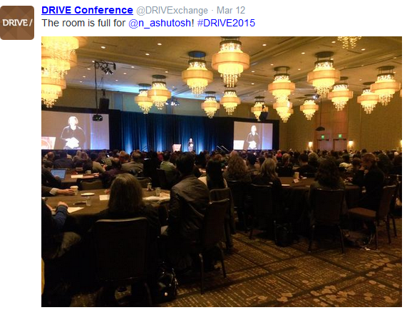 DRIVE 2015 Keynote Room Full